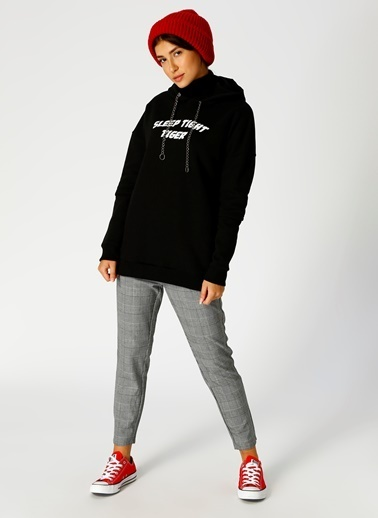 Black Pepper Sweatshirt Siyah